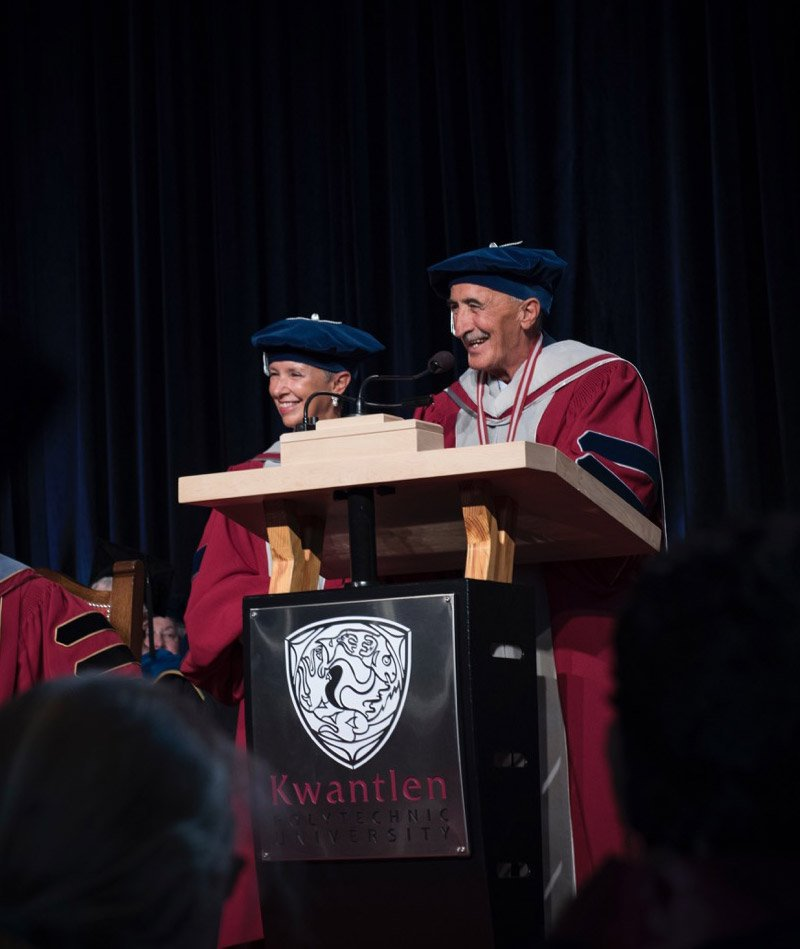 Read more on Phoenix Society's Michael and Ann Wilson awarded honorary degrees from Kwantlen Polytechnical University