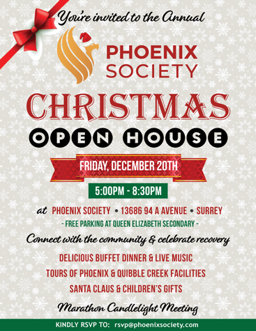 Phoenix Annual Christmas Open House 2019
