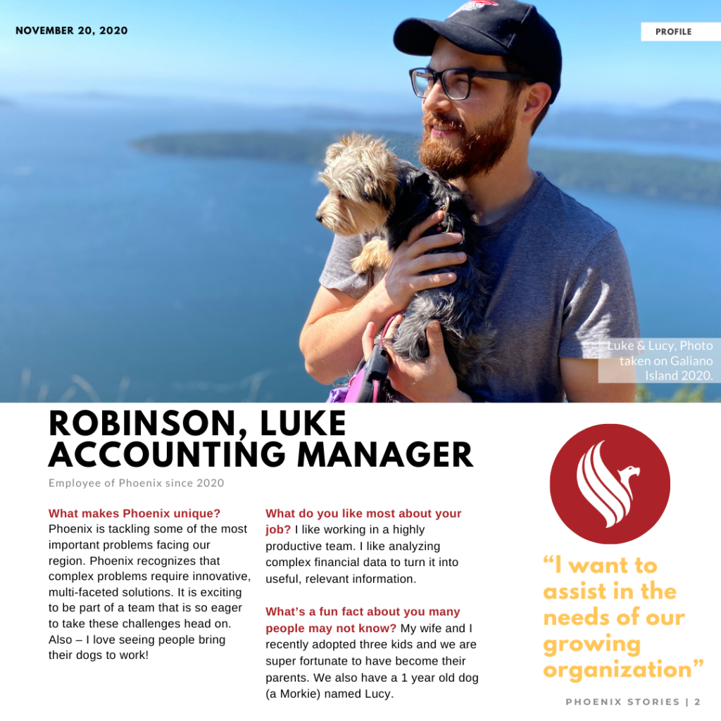 Welcome Luke Robinson – Accounting Manager